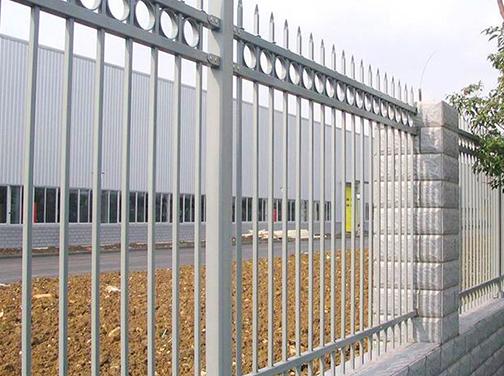 工业锌钢护栏