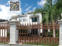 铝合金花园护栏