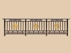 庭院铝艺围栏